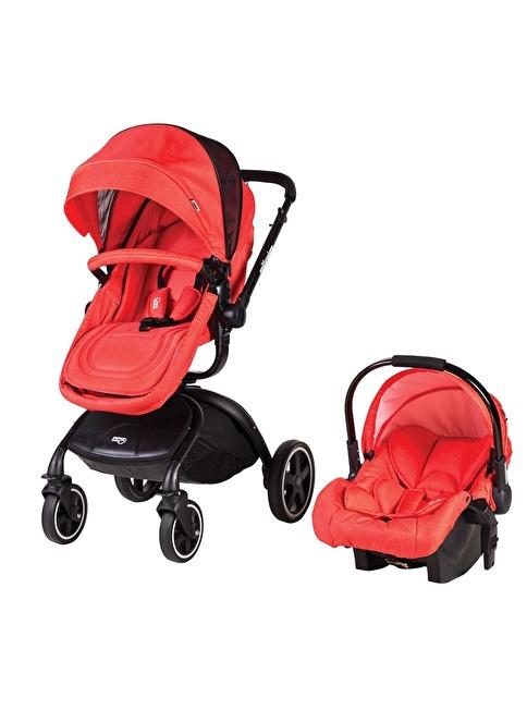 Sunny Baby Sunny Baby 758 Millenium T/S Bebek Arabası Kırmızı
